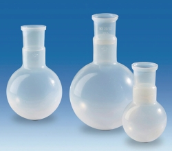 Round-bottom flasks, PFA