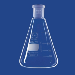 Erlenmeyer flasks with ground joint, DURAN®
