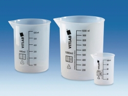 Griffin beakers, ETFE