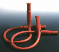 Gas safety tubing, rubber