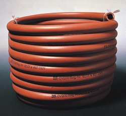 Safety gas hoses, rubber, without reinforcement