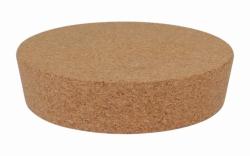 Lid in cork for chrome steel Dewar flasks