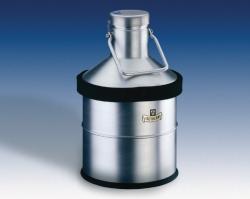 Dewar flasks, spherical, for LN2