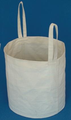 Linen carrier bag for large Dewar vessels