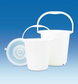 Buckets, HDPE, Lids, PE-LD