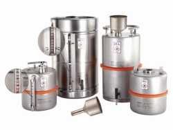 Safety barrels for solvents