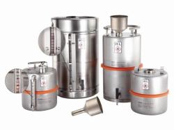 Safety barrels for solvents