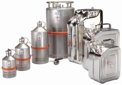 Safety transportation containers for solvents