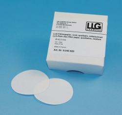 LLG-Qualitative filter paper, circles