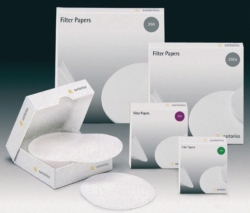 Quantitative filter paper, Grade 389 - white spot, circles and sheets