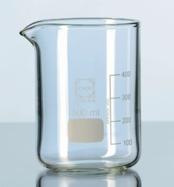 Filter beaker glass, DURAN®, heavy wall