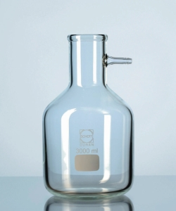 Filter flasks with glass-olive DURAN®