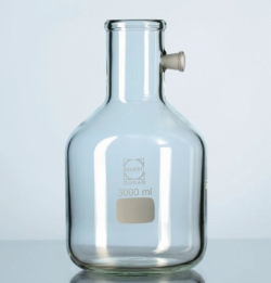 Filter flasks with side-arm socket, glass DURAN®