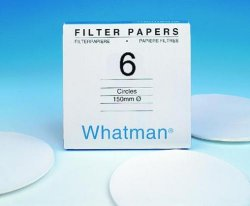 Filter paper, Grade number  6