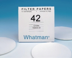 Filter paper, grade 42