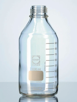 Laboratory bottles, DURAN®, with retrace code, without screw cap