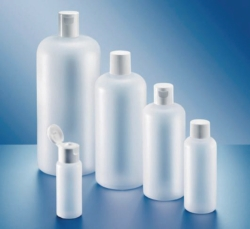 Round Bottles, series 308, PE-HD
