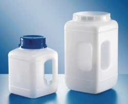 Wide-mouth bottles, 311 series, PE-HD