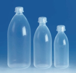 Narrow-mouth bottles with screw thread