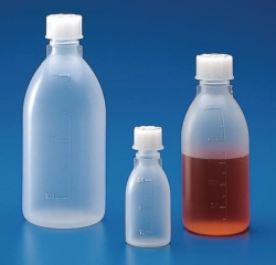 Graduated narrow-mouth bottles