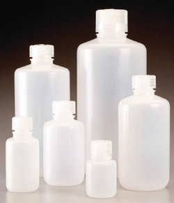 Narrow-mouth bottles Nalgene™ Economy , PPCO, with screw cap, PP