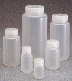 Wide-Mouth Bottles Type 2105 with screw cap, PP