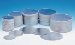 Round aluminium discs