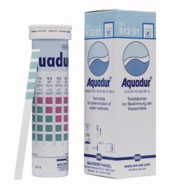 Water hardness test strips, AQUADUR®