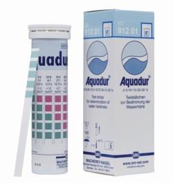 Water hardness test strips, AQUADUR®