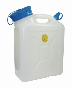 Wide-mouth jerrycans, HDPE