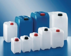 Industrial jerrycans, PE-HD