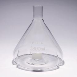 Fernbach baffled flasks, Pyrex®
