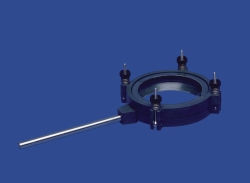 Clamps with stand rod