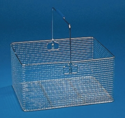 Transport baskets, stainless steel wire