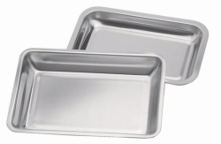 Trays, stainless steel