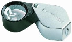 Precision folding magnifiers, metal