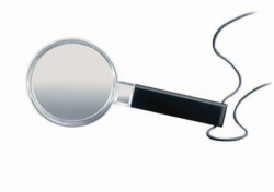 Magnifying lens, economic
