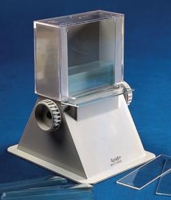 Microscope slide dispenser