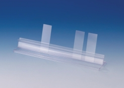 Microscope slide or paper strip holder, PS