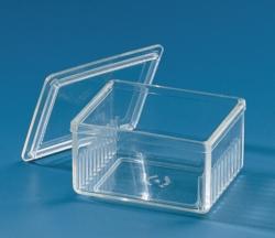 Staining jar, PMP (TPX®), Schiefferdecker pattern