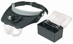 Peak-mounted, Illuminated Magnifier