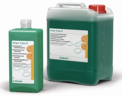 Disinfectant for temperature-sensitive  materials, Helipur® H plus N