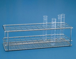 Test tube racks, stainless steel