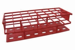 Test tube racks, acetal plastic