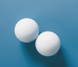Magnetic stirring bars, spherical, PTFE