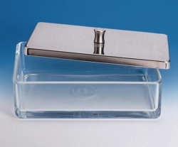 Instrument boxes, glass