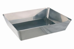 Photographic trays, 18/10 steel