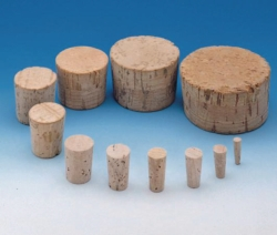 Stoppers, cork