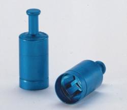 Metal caps, Labocap with handle, Aluminium