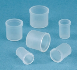 Sealing caps for test tubes, versilic silicone